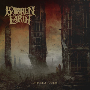 """BARREN EARTH - On Lonely Towers - GATEFOLD 2X12""""LP"""