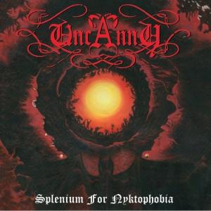 """UNCANNY - Splenium For Nyktophobia - 12""""LP"""