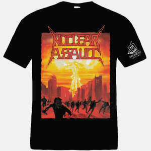 NUCLEAR ASSAULT - Game Over - T-SHIRT
