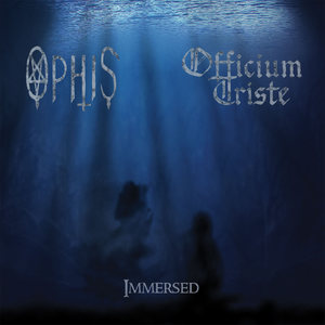 OFFICIUM TRISTE / OPHIS - Immersed - 12''LP PRE-ORDER (SEABLUE WITH WHITE CORNETTO SPLATTER)